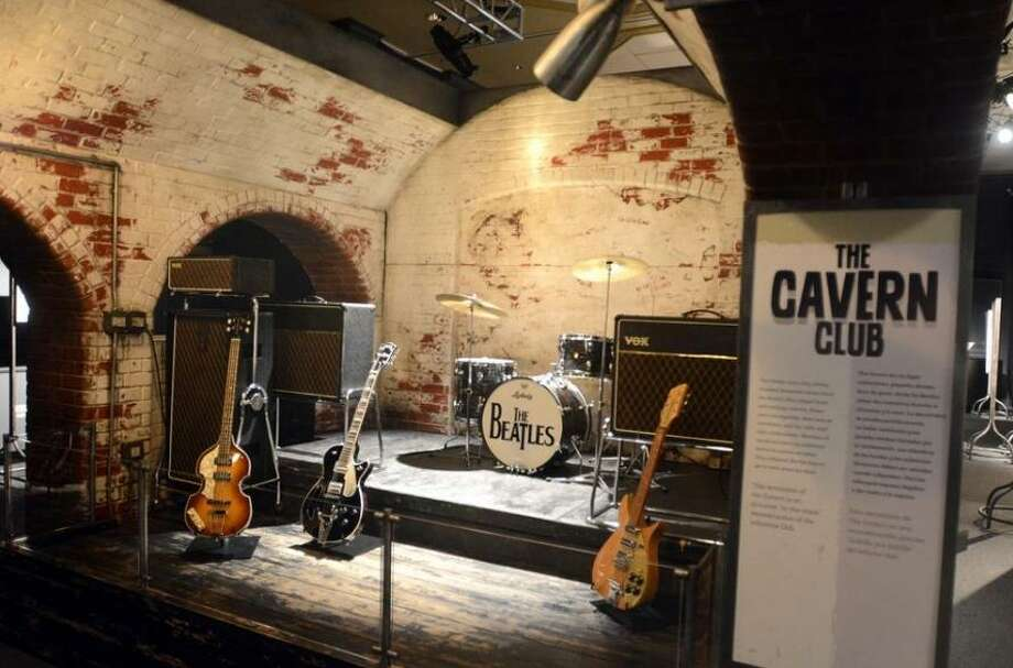 """The Magical History Tour: A Beatles Memorabilia Exhibition"" is on view at Foxwoods Resort Casino through Sunday, Feb. 5. A replica of The Cavern Club is part of the show. The spot opened as a jazz club in 1957, then became central to the Liverpool rock scene in the 1960s. The Beatles played there during their early years. Photo: Foxwoods Resort Casino / Contributed Photo"