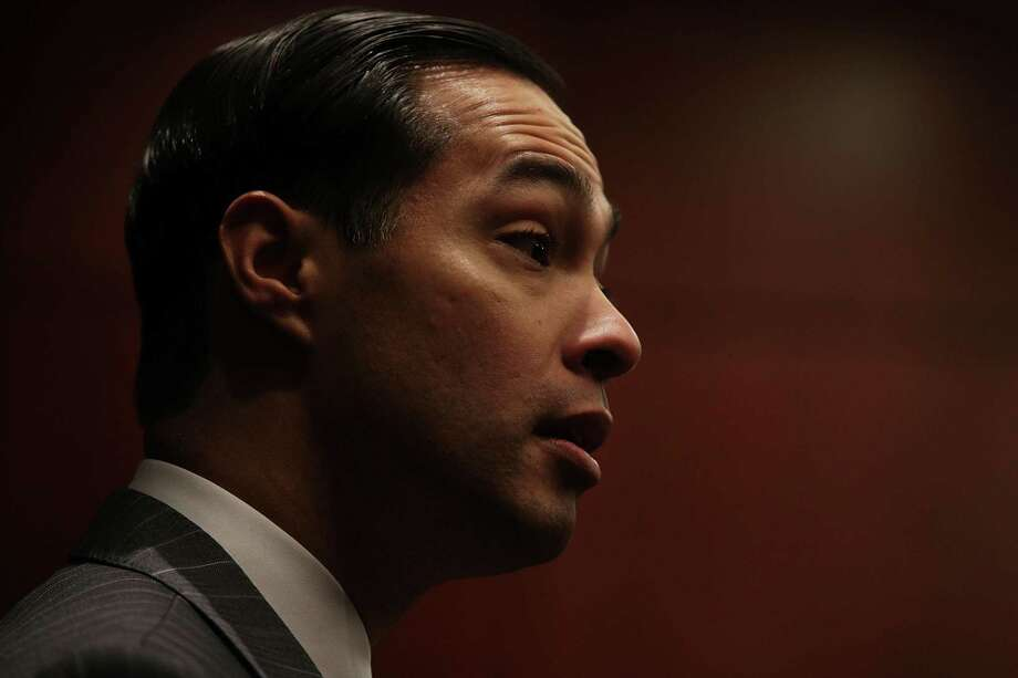 U.S. Secretary of Housing and Urban Development Julian Castro speaks during an event in December. He will be a panelist Friday at St. Mary's University in a conference on Mexico's constitution, which turns 100 this year. (Photo by Alex Wong/Getty Images) Photo: Alex Wong /Getty Images / 2016 Getty Images