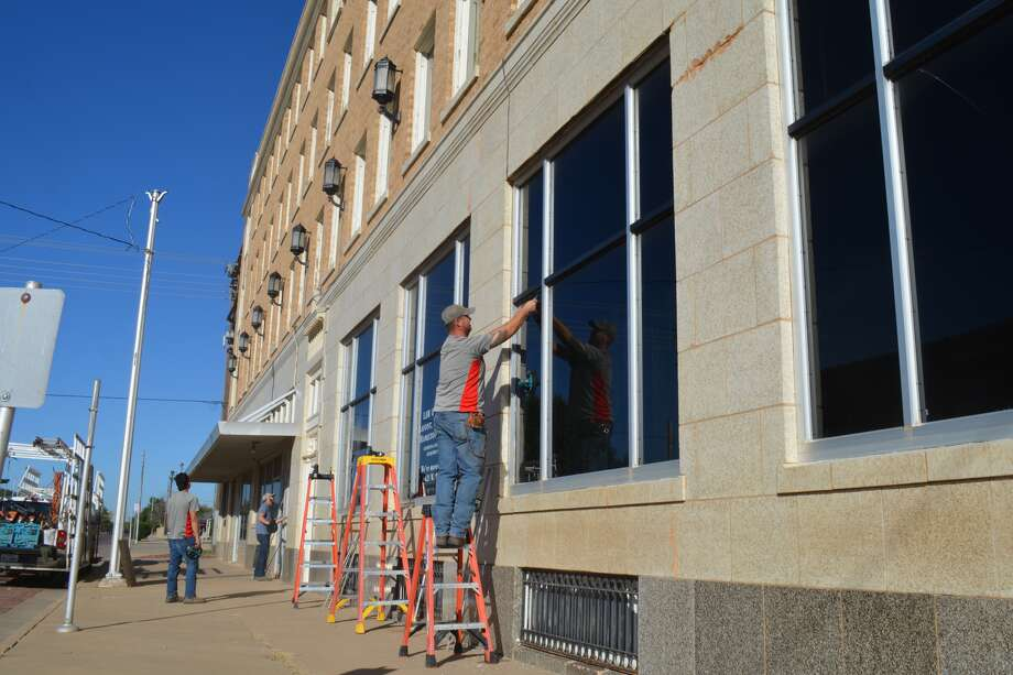 In October, a Lubbock glass company replaced 11 broken winds along the ground floor of the venerable Skaggs Building at Seventh and Broadway, as part of an ongoing restoration project. In recent weeks, Plainview Downtown Restoration has received grants from Plainview Area Endowment and now $10,000 from the Community Foundation of West Texas.