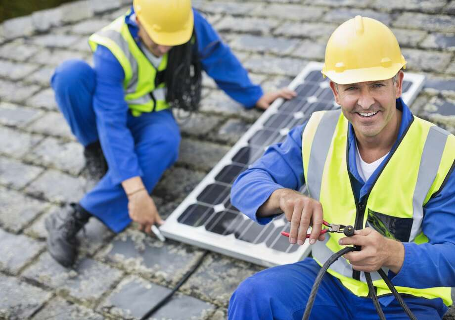 10. Solar InstallerGrowth percent: 44.83%Average wage: $42,910Jobs in 2024: 4,200 Photo: Paul Bradbury/Getty Images/Caiaimage