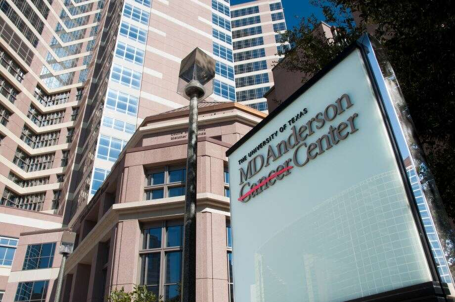 A view of the outside of the MD Anderson Cancer Center in Houston. (Chronicle File Photo) Photo: Houston Chronicle