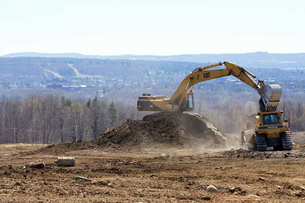 Land is cleared for SUNY Polytechnic Institute's new 360,000 square foot state-of-the-art computer chip fab at the Marcy Nanocenter near Utica on April 20, 2016, in Marcy, N.Y. The site was to be the home to ams AG's advanced sensor manufacturing. (Office of the Governor)