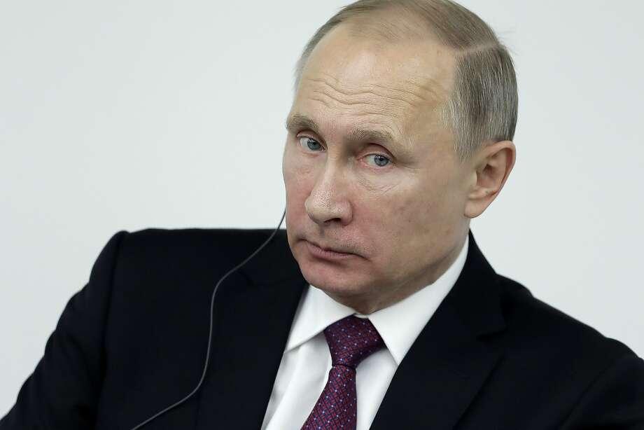 Russian President Vladimir Putin. Photo: Kiyoshi Ota, Bloomberg