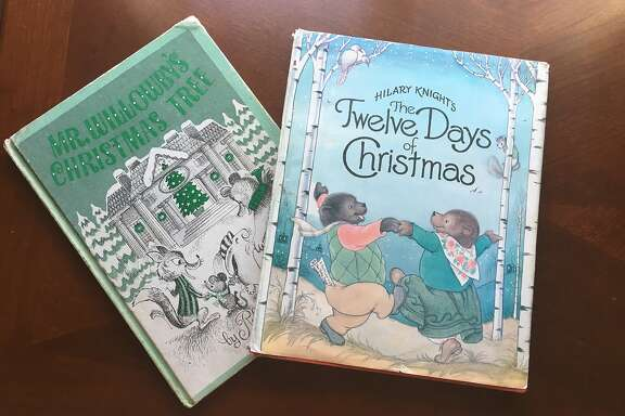 """Robert Barry's """"Mr. Willowby's Christmas Tree"""" and Hilary Knight's """"The Twelve Days of Christmas,"""" are childhood favorites of Vanessa Hua."""