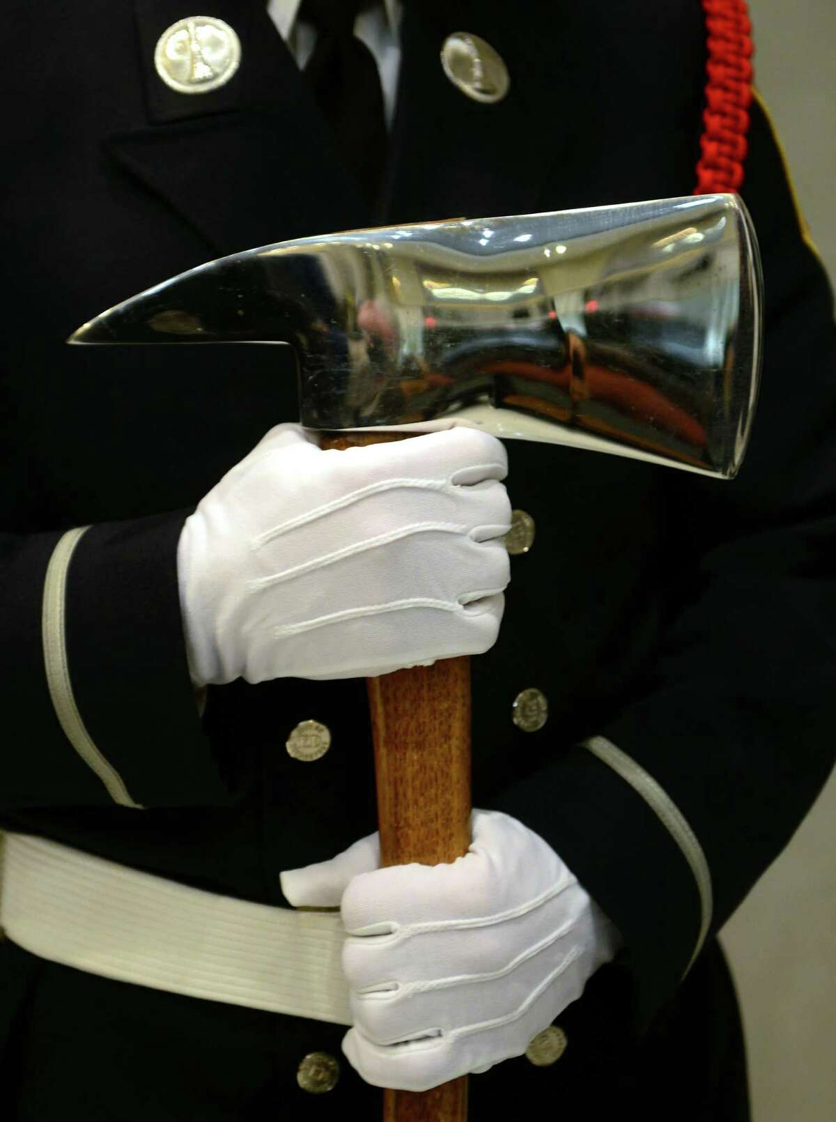 A Swearing In Ceremony for 22 new Bridgeport firefighters was held at Bridgeport City Hall in Bridgeport, Conn. on Dec. 16, 2016. Led by Mayor Joe Ganim, the city graduates the new firefighters from State Fire Academy.