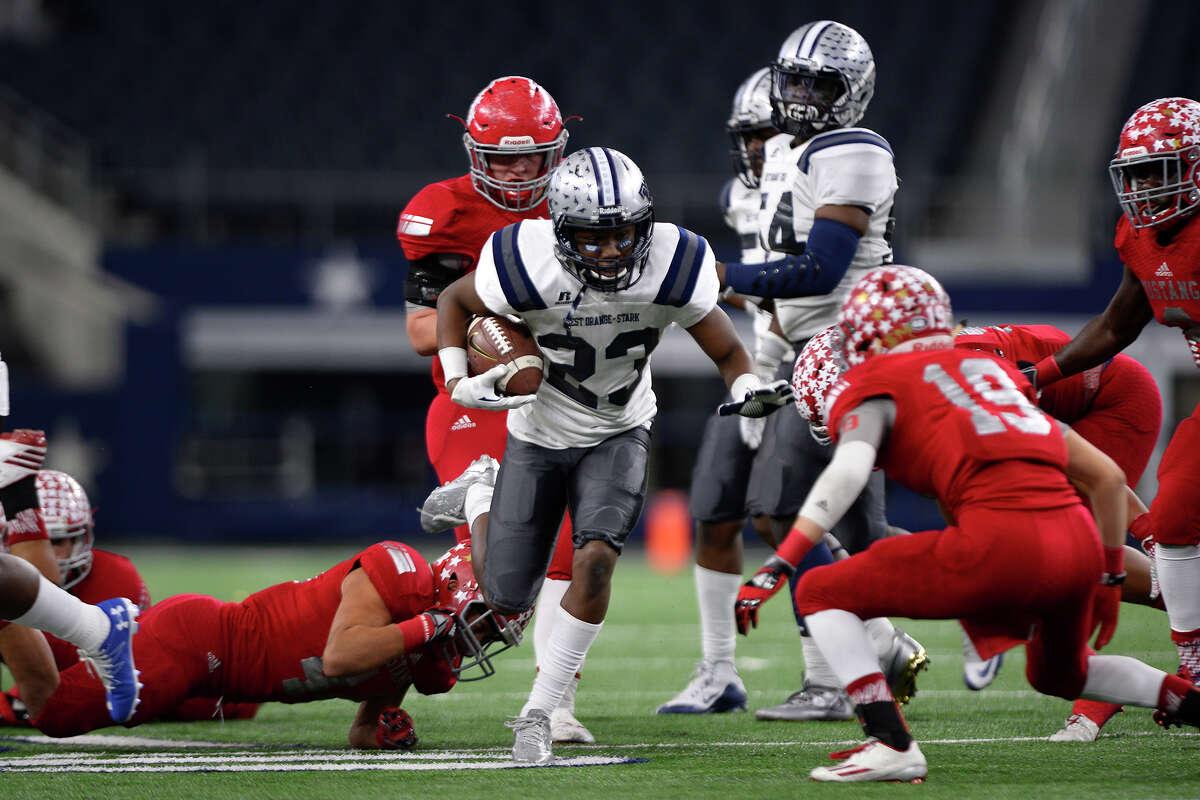 Kavyn Cooper School: West Orange-Stark Year: Senior Notes: Cooper rushed for 815 yards and 13 touchdowns last regular season.
