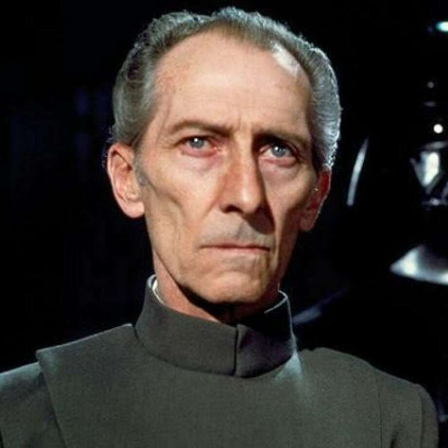 "Peter Cushing as Grand Moff Tarkin in the original ""Star Wars"" trilogy.  Photo: Lucasfilm"