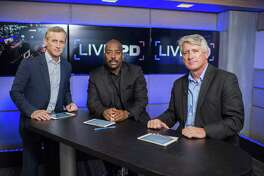 Live PD hosts Dan Abrams, Kevin Jackson and Rich Emberlin in the studio in New York. The new A&E series will capture the work of a varied mix of urban and rural police forces around the country on a typical Friday evening, including Bridgeport cops.