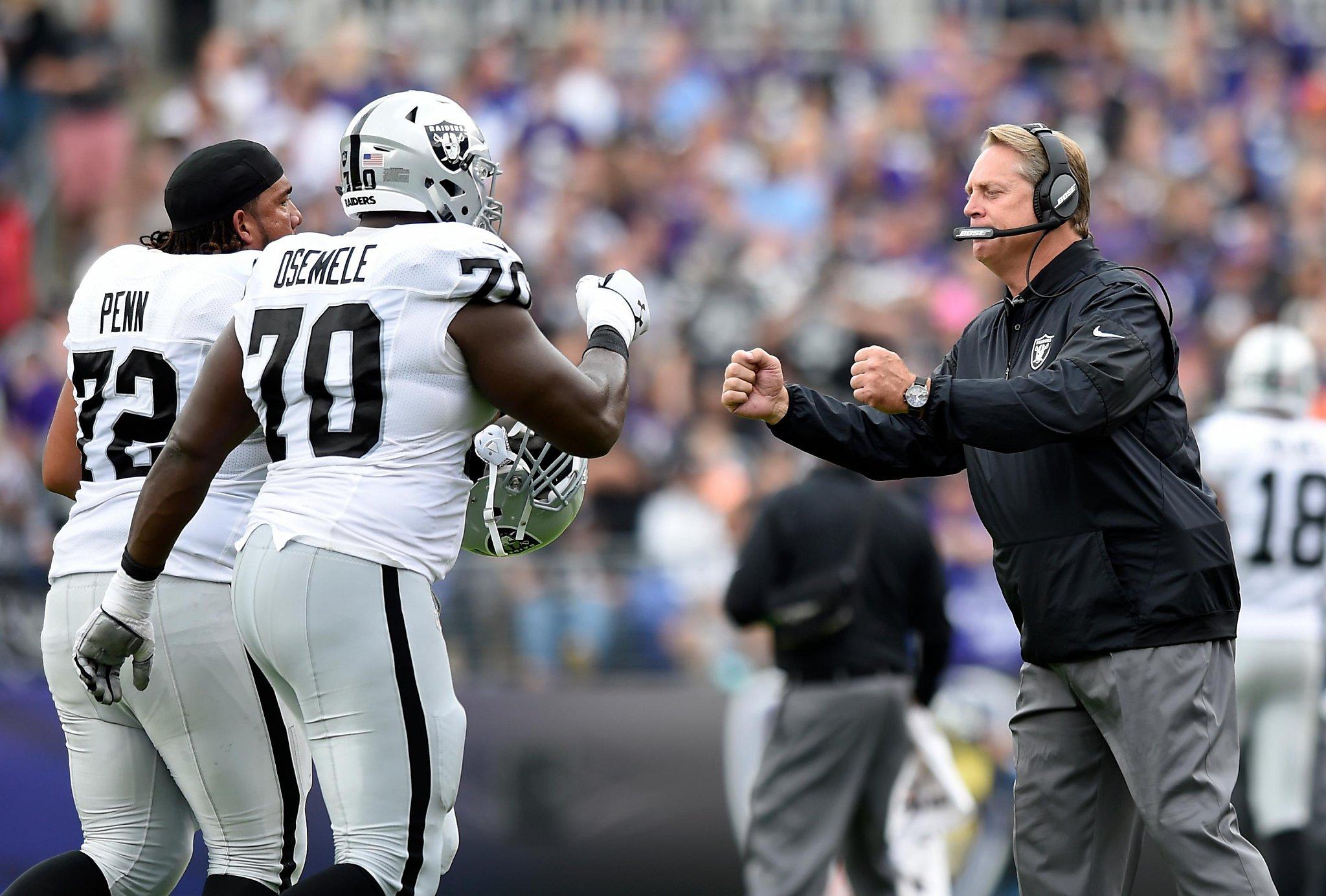 Coach Jack Del Rio s confidence has rubbed off on Raiders SFGate