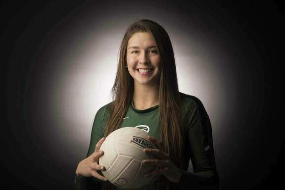 Reagan's Camryn Ennis is the 2016 Express-News Volleyball Player of the Year.