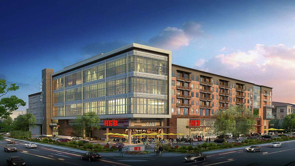 A rendering of the proposed Buffalo Heights development along Washington Avenue, at South Heights Boulevard.