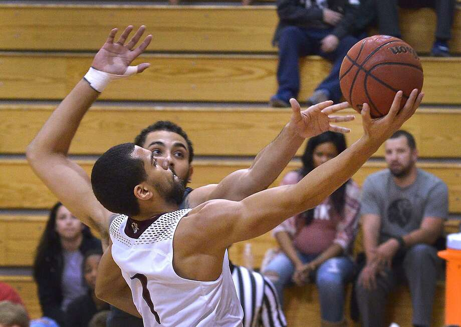 Arthur Santanna scored 13 points and grabbed five rebounds in the Dustdevils' victory over Arkansas-Fort Smith Saturday. Photo: Cuate Santos /Laredo Morning Times / Laredo Morning Times