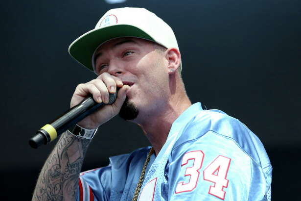 "Rapper Paul Wall performs during the ""Welcome to Houston all-star rap set"" segment at Day for Night festival Saturday, Dec. 17, 2016, in Houston."