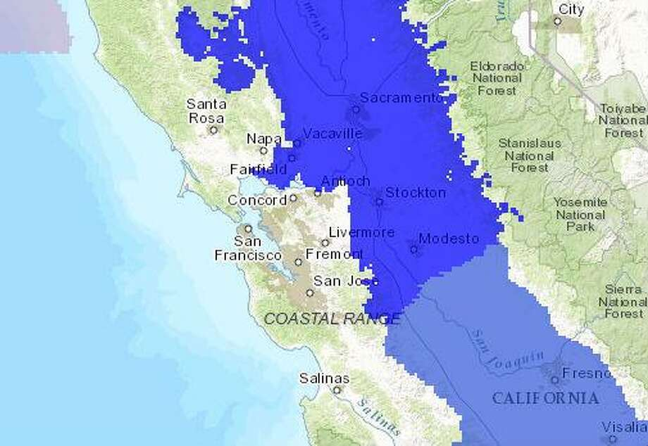 Freeze warning issued for parts of Bay Area