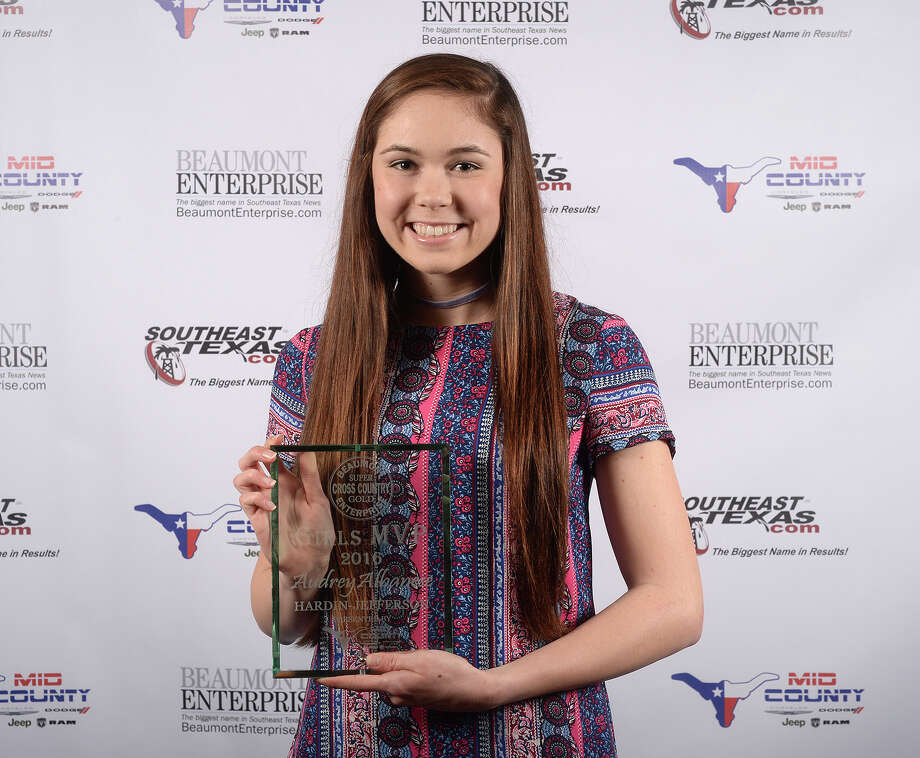Hardin-Jefferson's Audrey Albanese at the Beaumont Enterprise Super Gold 2016 Fall Sports Banquet presented by Mid County Chrysler Dodge Jeep Ram. The annual event honors area athletes who excelled in their sport. Photo: Guiseppe Barranco, Photo Editor