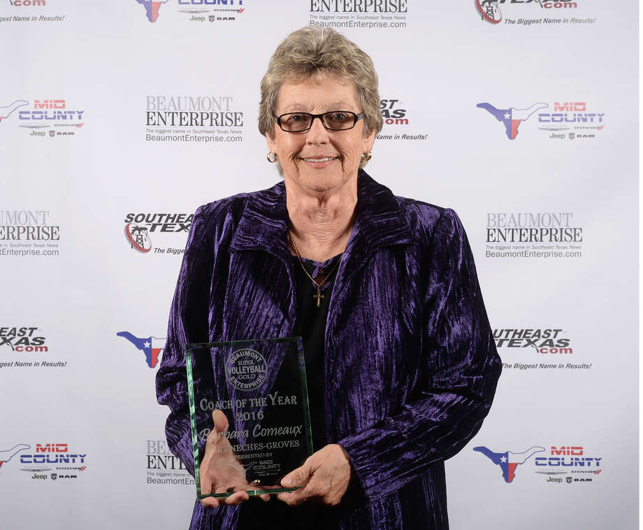 Port Neches-Groves' Barbara Comeaux at the Beaumont Enterprise Super Gold 2016 Fall Sports Banquet presented by Mid County Chrysler Dodge Jeep Ram. The annual event honors area athletes who excelled in their sport. Photo: Guiseppe Barranco, Photo Editor