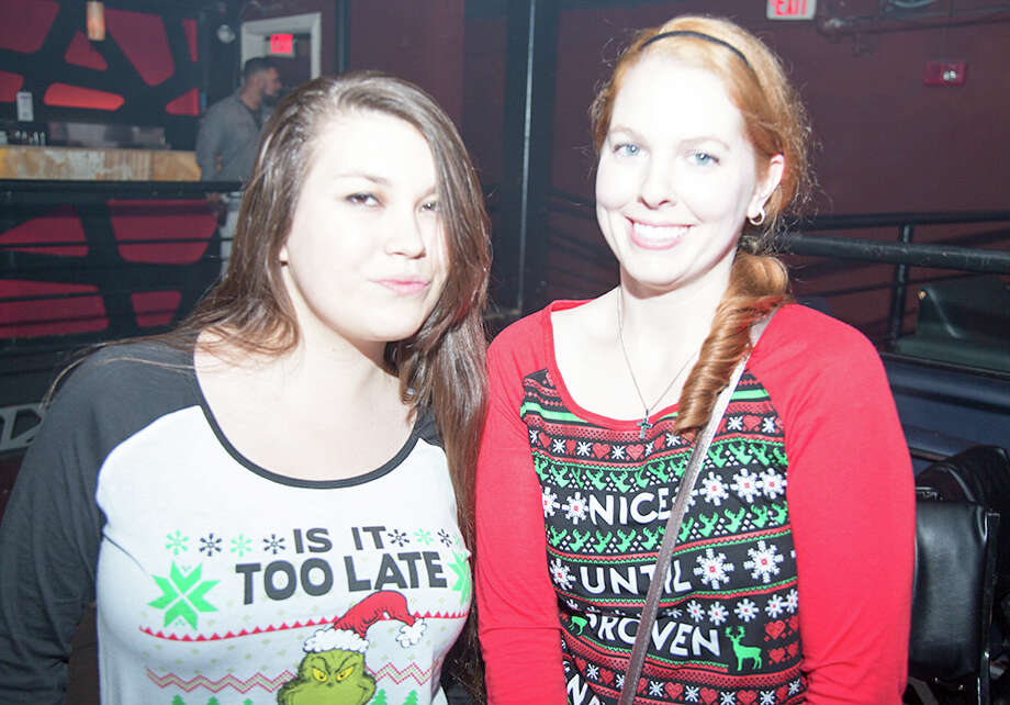 "No amount of ugly, nor frigid temperatures could keep San Antonio's hip party crowd away from a night of dancing and ""ugly sweaters"" at Club Rio Saturday, Dec. 17, 2016. Photo: By B. Kay Richter, For MySA"