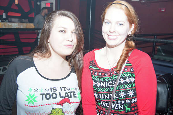"""No amount of ugly, nor frigid temperatures could keep San Antonio's hip party crowd away from a night of dancing and """"ugly sweaters"""" at Club Rio Saturday, Dec. 17, 2016."""