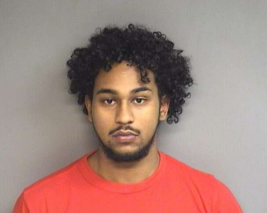 Juany Colon, 19, of Stamford was charged with operating a drug factory, possession of marijuana with intent to sell and other charges Saturday. Photo: Stamford Police