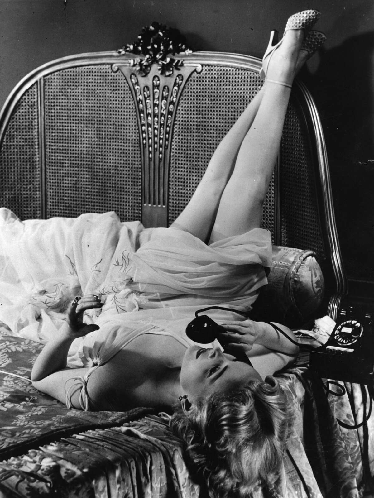 Hungarian born Zsa Zsa Gabor, American leading lady. Original Publication: People Disc - HF0271 (Photo by Hulton Archive/Getty Images)