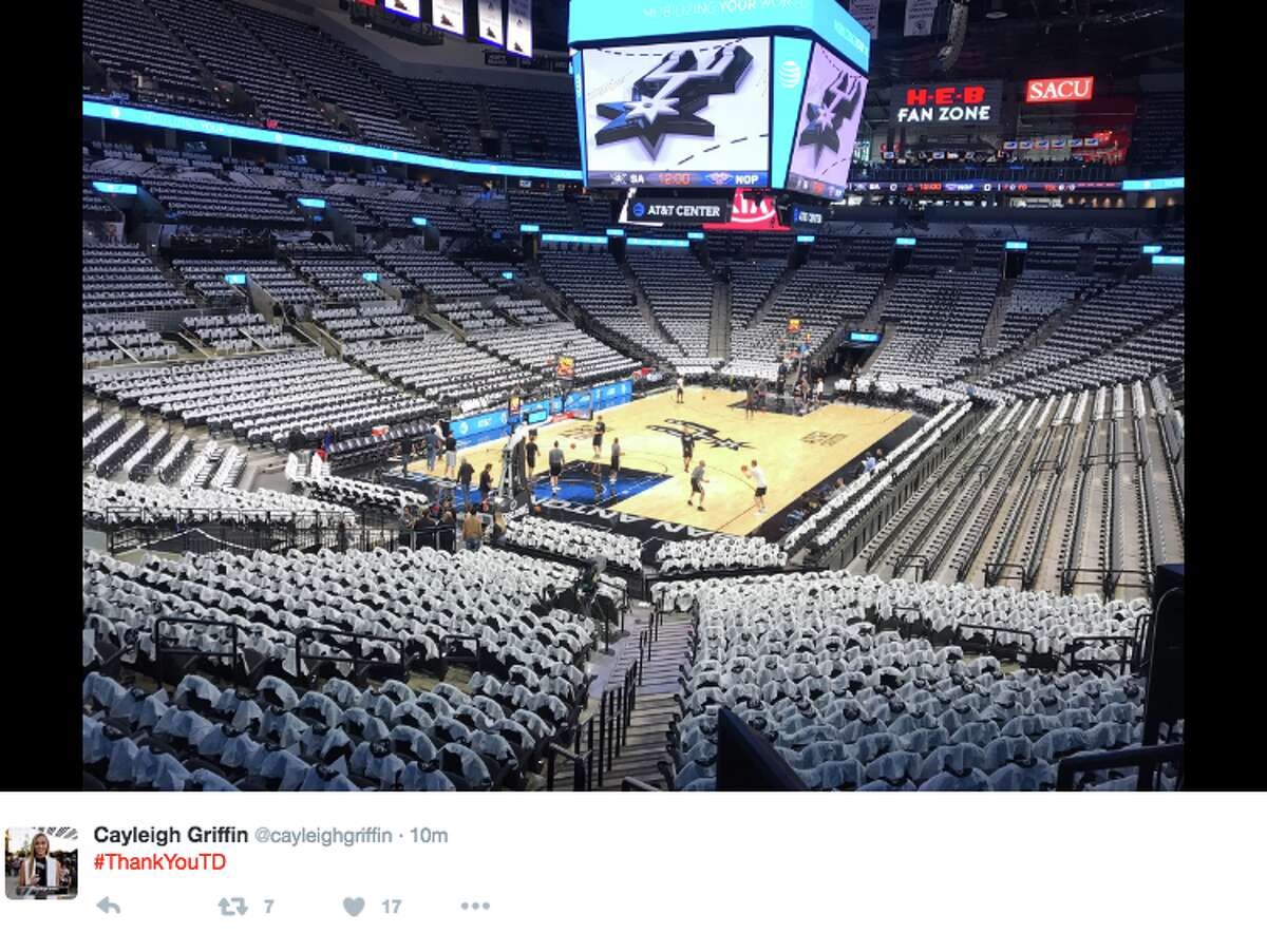 Coaches, players and Spurs fans pay homage to Tim Duncan on the night of his jersey retirement.