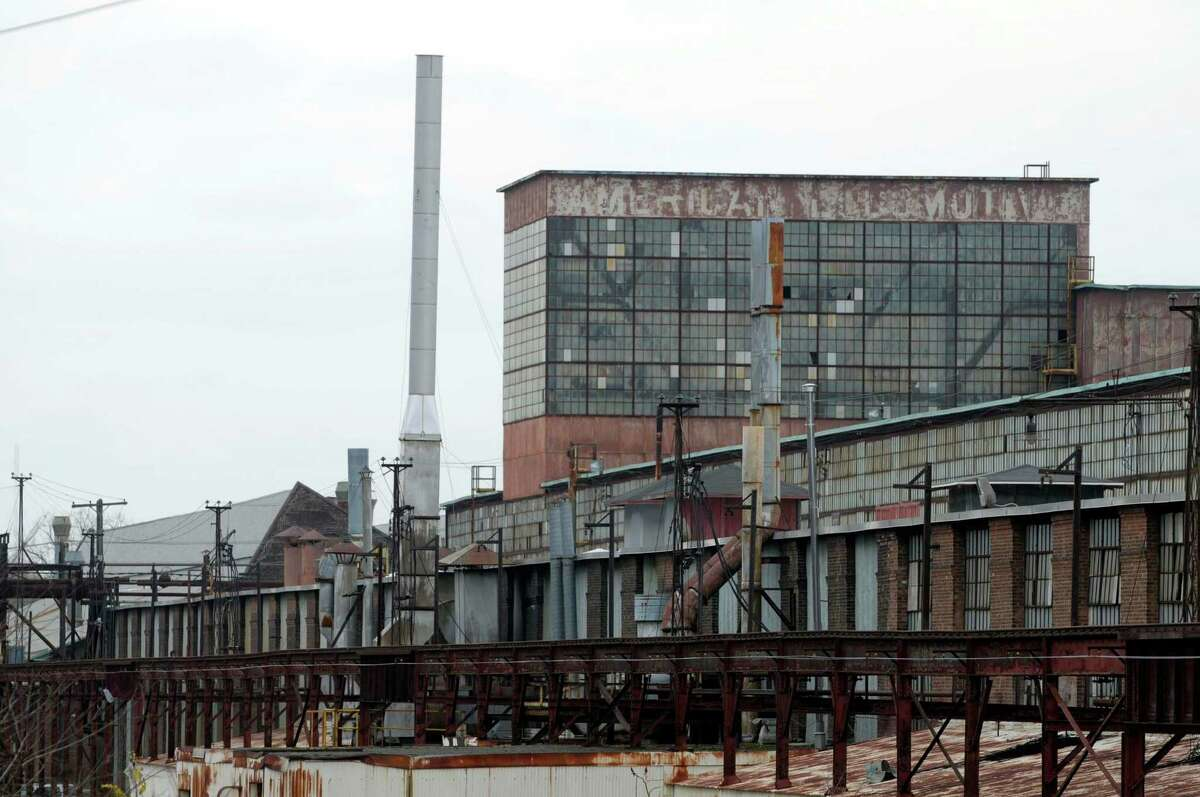A view of the former Alco complex in Schenectady, NY on Monday, Nov. 15, 2010. That is when demolition work began on the former locomotive site, that is now Rivers Casino and Resort. (Paul Buckowski / Times Union)