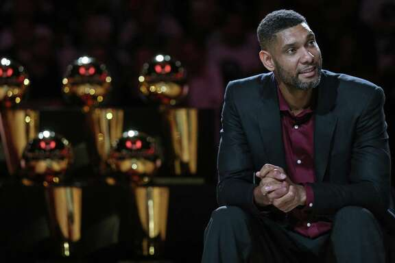 Tim Duncan, who played all 19 of his NBA seasons in San Antonio, was elected to the Naismith Hall of Fame on his first ballot.