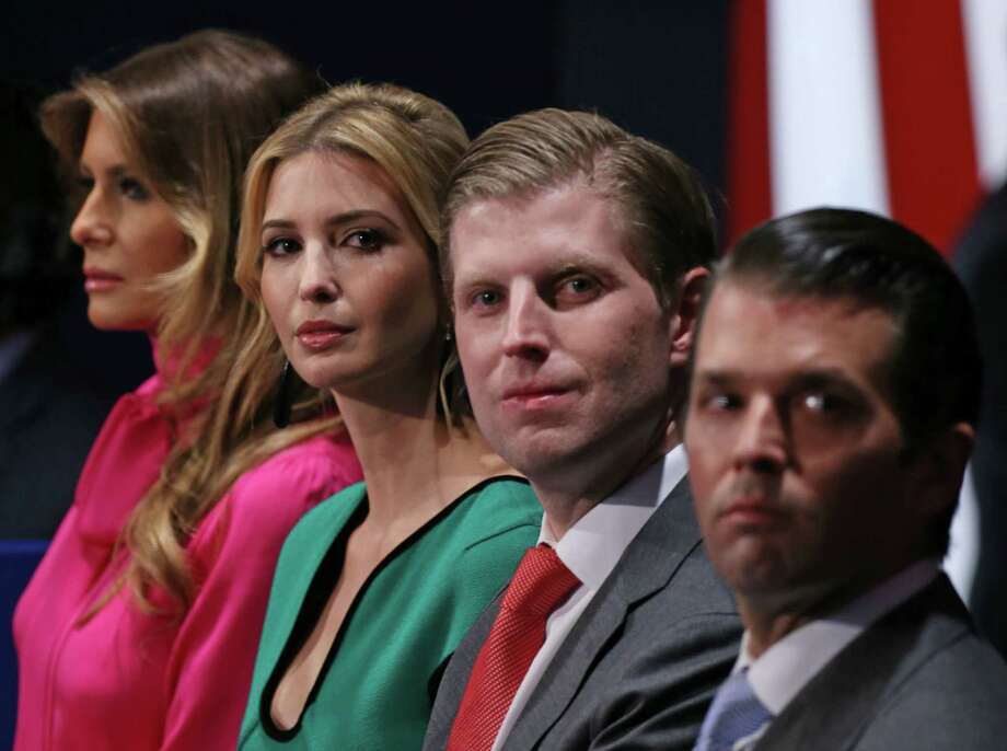 Even if Donald Trump's family isn't seeking profit from government ties, critics and favor-seekers will assume that's the case, says columnist Michael Taylor.  Photo: TASOS KATOPODIS, Stringer / AFP or licensors