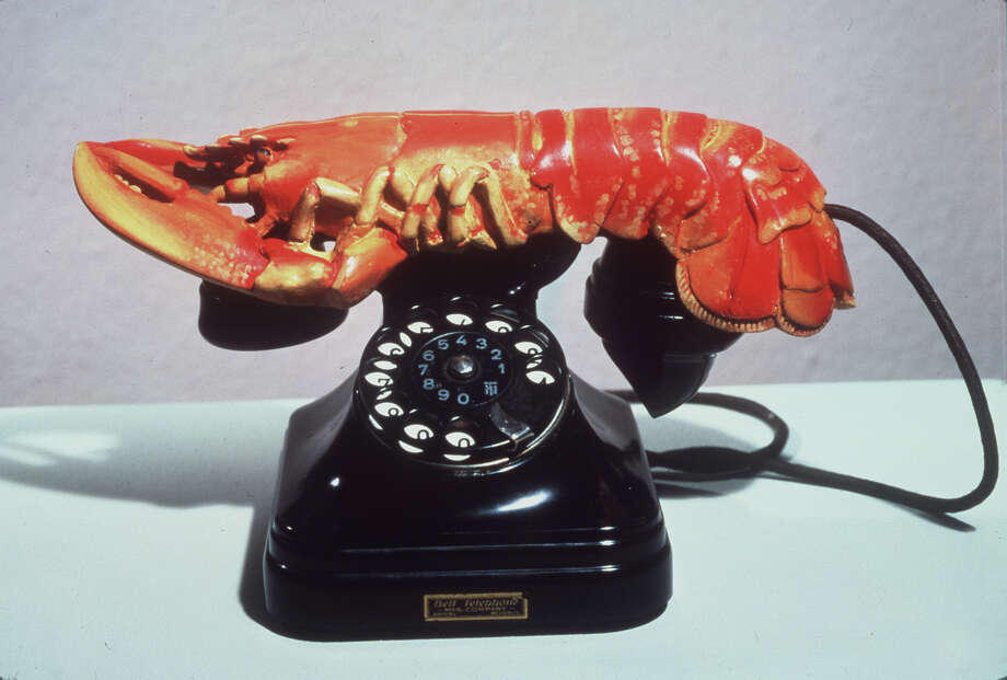 """A Lobster Telephone"" by Salvador Dali. Photo: AP / METROPOLITAN MUSEUM OF ART"