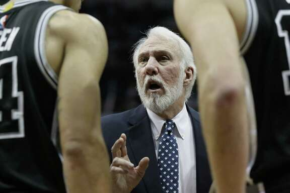 Gregg Popovich is known for being unpredictable during timeouts.