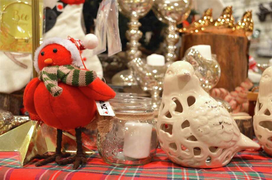 All things bird were available at the Connecticut Audubon Society's discount shopping night, Friday, Dec. 16, 2016, in Fairfield, Conn. Photo: Jarret Liotta / For Hearst Connecticut Media / Fairfield Citizen News Freelance