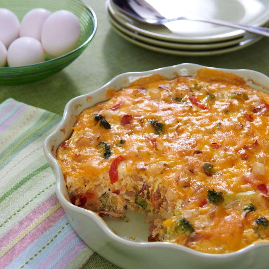 Easy Breakfast Casserole byGiselle Blondet.