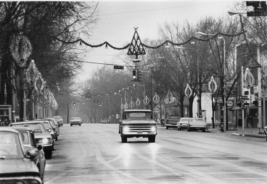 Downtown Midland. Unknown date Photo: Daily News File Photo