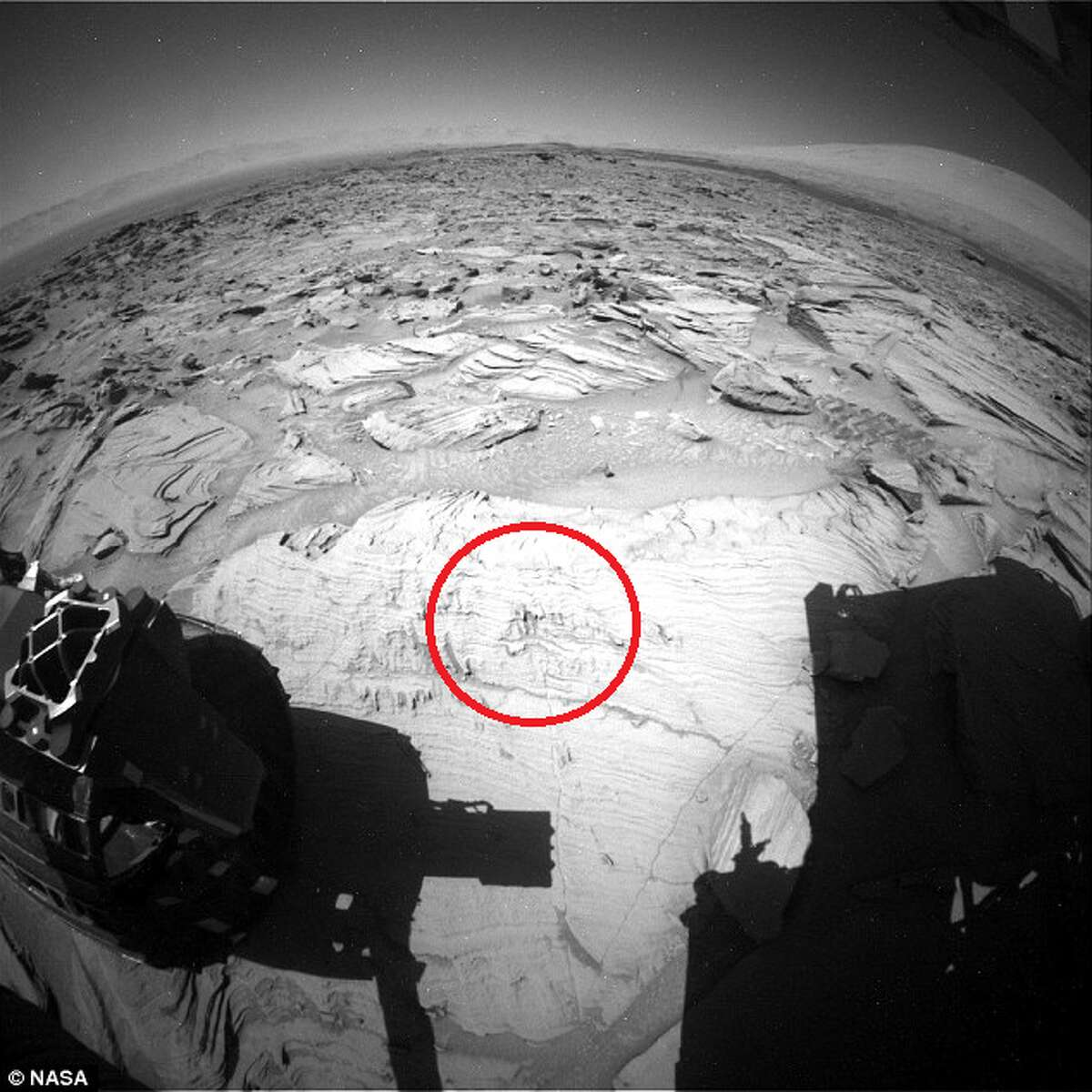 GALLERY: The weirdest things people claim they spotted on Mars Cave painting