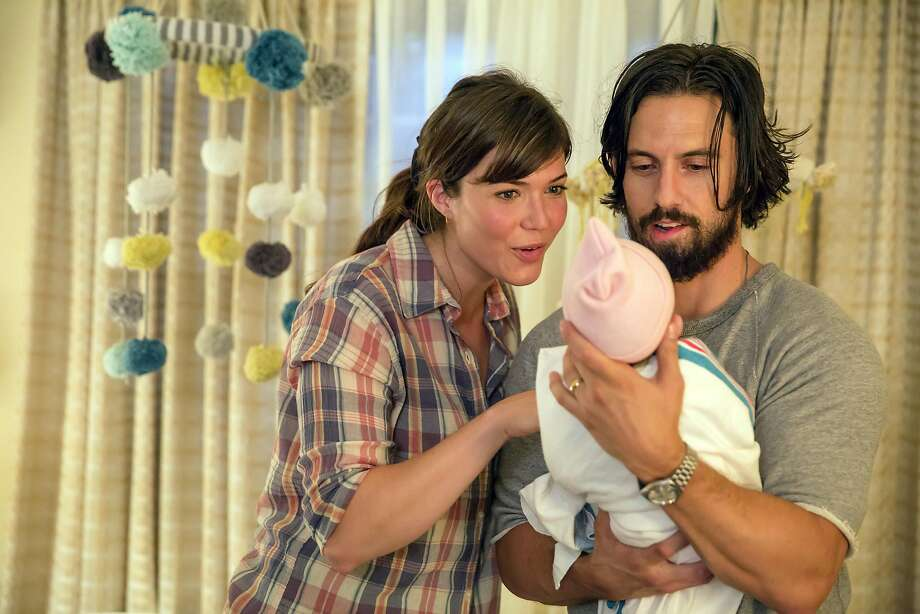 "Mandy Moore as Rebecca and Milo Ventimiglia as Jack in ""This is Us."" MUST CREDIT: Ron Batzdorff, NBC Photo: NBC"