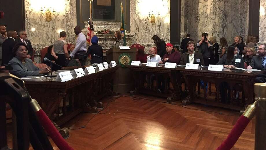 None of Washington's Electoral College members voted for Trump. Photo: KOMO News