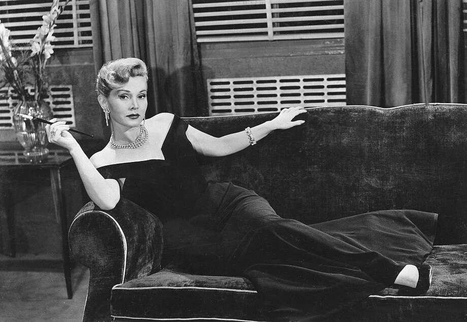 "Zsa Zsa Gabor in the 1953 movie ""L'ennemi public no 1."" For more glamorous eye candy, scroll through the slideshow. Photo: Ullstein Bild/ullstein Bild Via Getty Images"