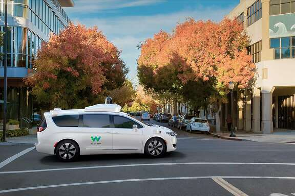 Waymo, a division of Google's parent company Alphabet, has worked with Fiat Chrysler Automobiles to create a self-driving version of the Chrysler Pacifica minivan.