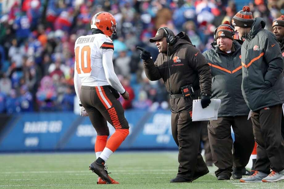 32(Last week: 32): Cleveland Browns (0-14) Photo: Tom Szczerbowski/Getty Images