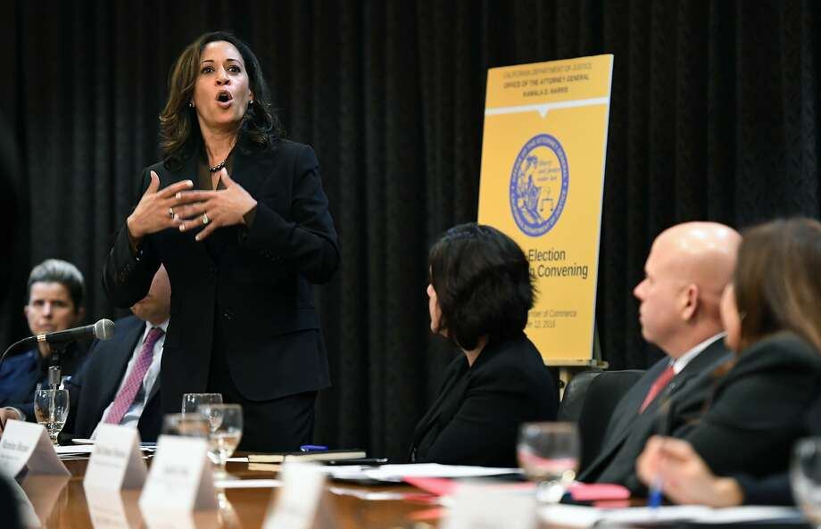 "California Sen.-elect Kamala Harris says that the four committees she has been assigned to are in ""key battlegrounds in the fight for the future of our country."" Photo: Wally Skalij, TNS"