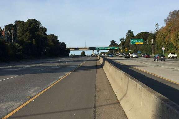 A portion of I-580 eastbound was shut down Monday as police investigated a possible shooting, officials said.