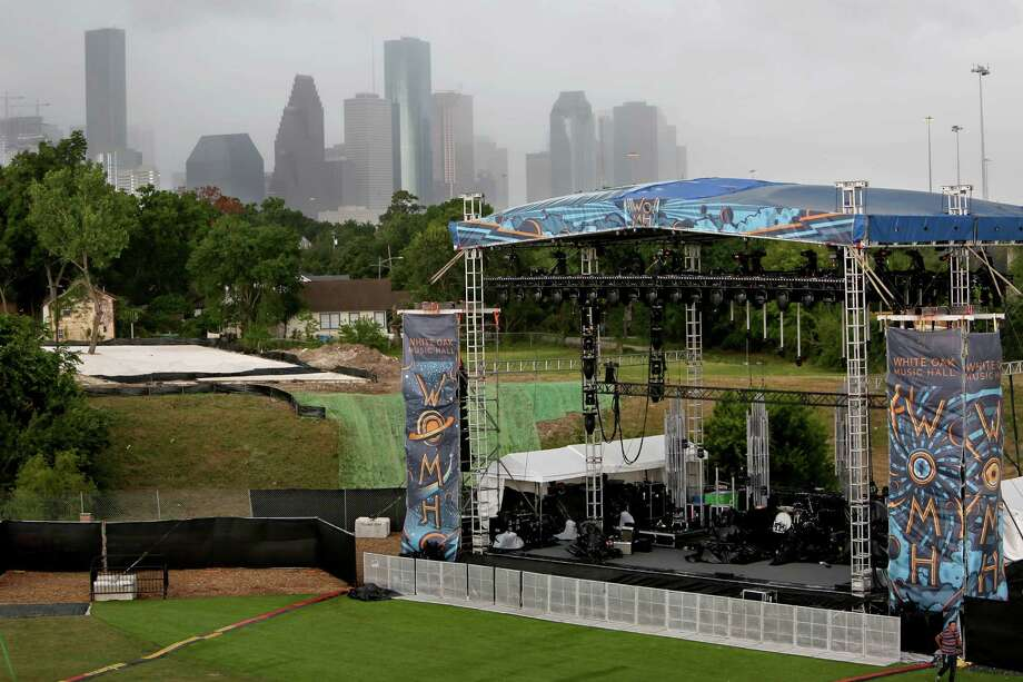 "The ""Lawn"" at White Oak Music Hall is seen in May. Some neighbors oppose a permanent outdoor stage.>>Keep clicking for a look at the shows that have been scheduled inside and outside at the venue.  Photo: Gary Coronado, Staff / © 2015 Houston Chronicle"