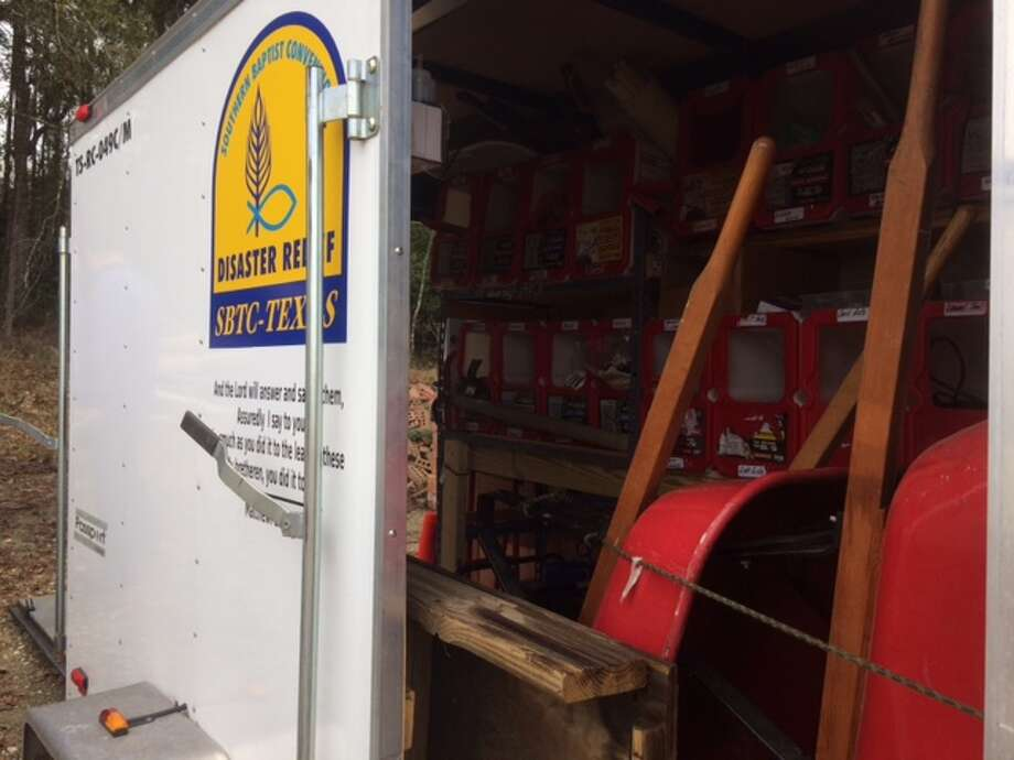 Northeast Houston Baptist Church now has a disaster relief unity ready for deployment. Photo: Courtesy Photo