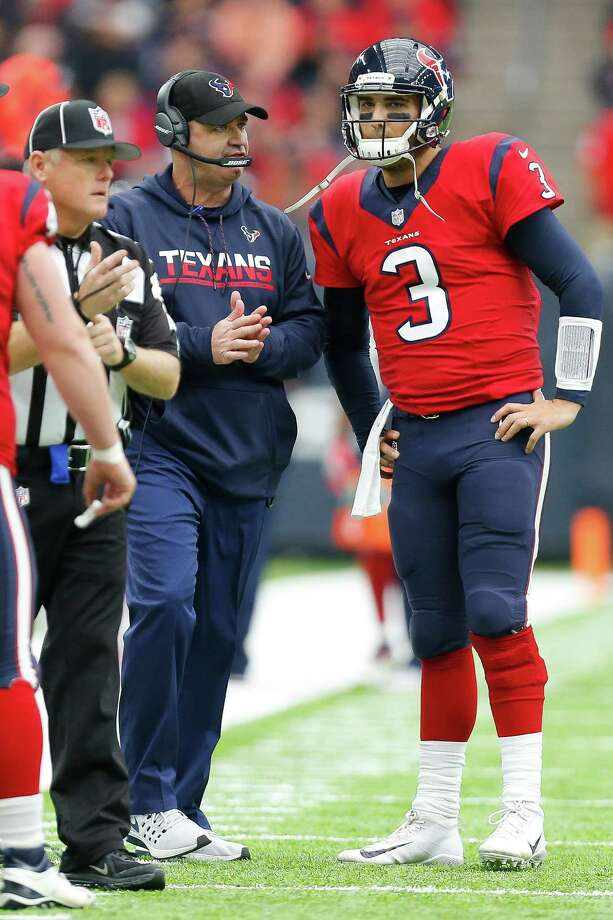 Osweiler Photo: Michael Ciaglo, Staff / © 2016  Houston Chronicle