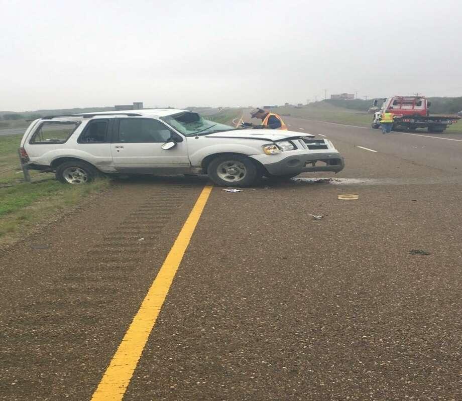 Armando Rosas-Arriaga falleció el sábado por la mañana después de salir expulsado del vehículo en el que viajaba al volcarse sobre la carretera I-35. Photo: Foto De Cortesía