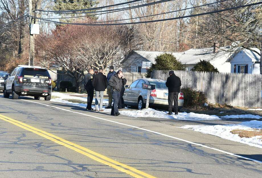 Norwalk Police were called to the area of All Saints School on West Rocks Road Tuesday, Dec. 20, 2016, on reports of shots fired, which turned out to be the sounds of a backfiring car. Photo: Harold F. Cobin