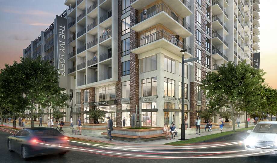 The Ivy Lofts will have more than 14,000 square feet of retail space on the ground floor.