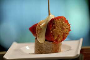 San Antonio Restaurant Week, which runs Aug. 12-26, features specially priced menus from more than 100 restaurants in San Antonio, Boerne and New Braunfels, including The Bin Tapas Bar, which will feature stuffed piquillo peppers as part of its $25 dinner menu.