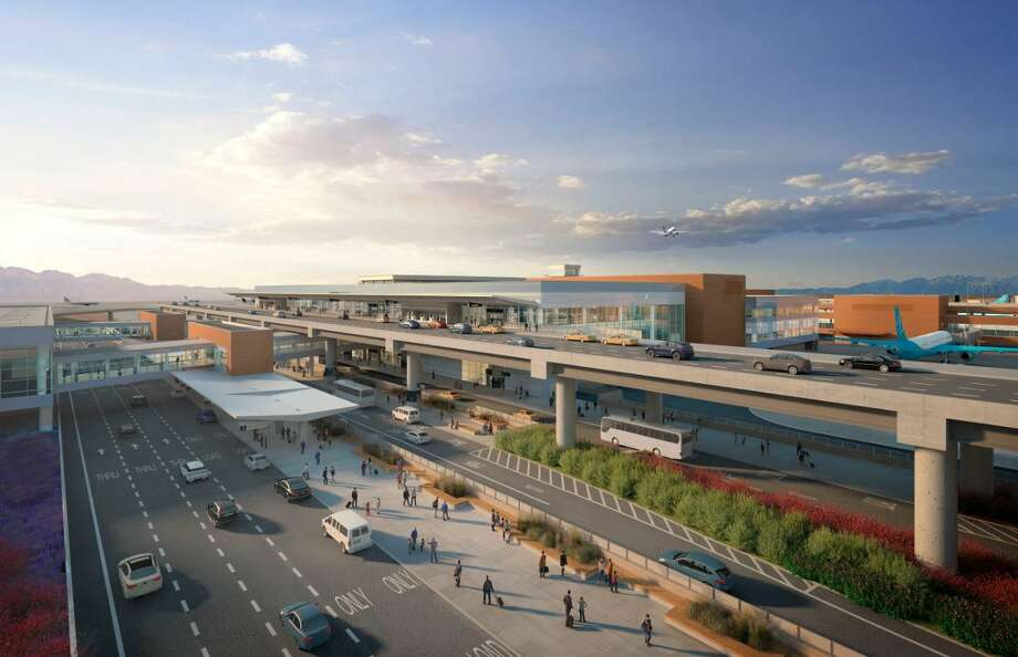 A subsidiary of The Woodlands-based Sterling Construction Co., Inc., is the selected bidder for a $66 million portion of a terminal redevelopment project at Salt Lake City International Airport in Utah. Photo: Salt Lake City International Airport, Contributed Image