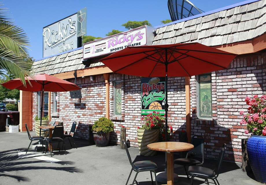 Ricky's Sports Theatre and Grill in San Leandro has 90-plus screens. Photo: Jill Schneider, The Chronicle
